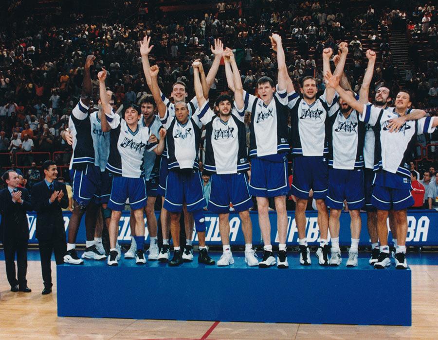 carlton italia squadra europei 99