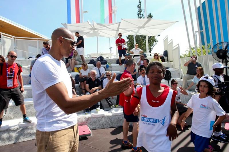 ambassador kinder+sport expo milano 2015